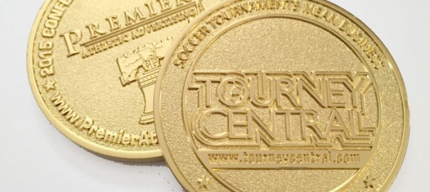 TourneyCentral 2015 Challenge Coin