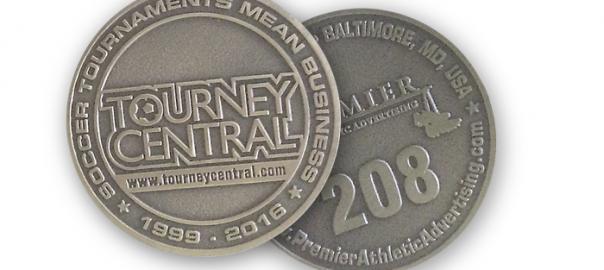 2016 NSCAA Coin